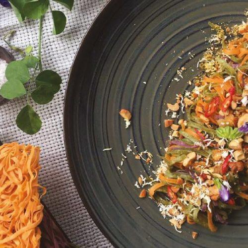 Fried Rainbow Gourmet – Veggie Noodle