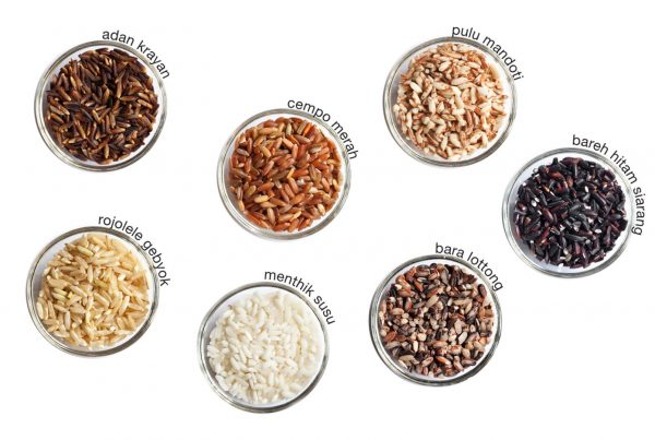 Type of Indonesia's Heirloom Rice