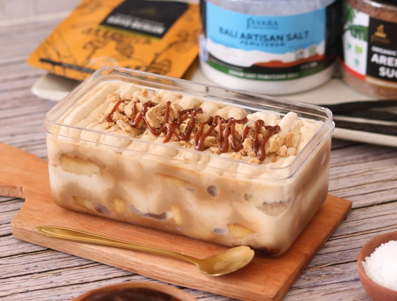 Dessert Box Banana Salted Caramel