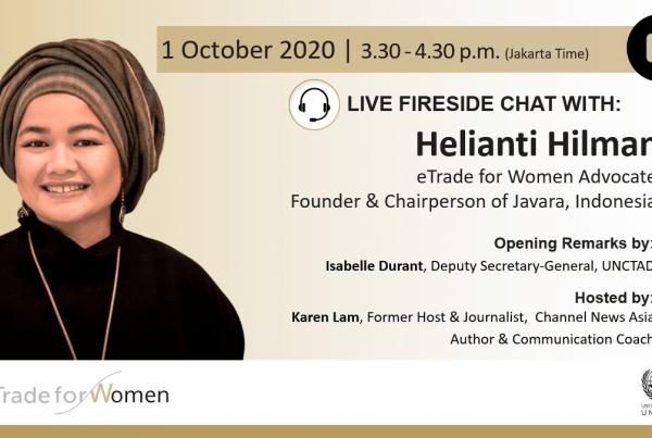 Fireside Chat UNCTAD Helianti Hilman